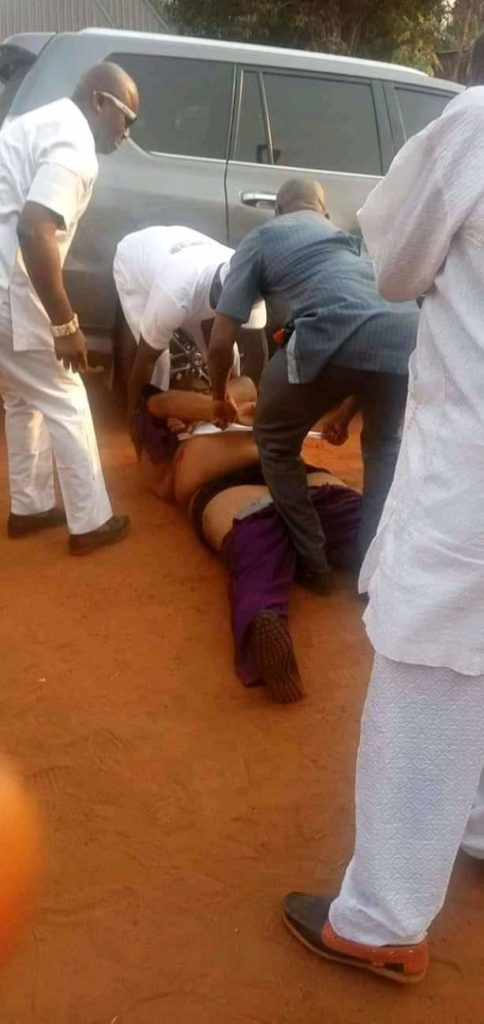 Imo Billionaire Politician mistakenly shot by security aide ( Photos)