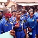 Some idiots sent Students to protest for Rochas in Owerri
