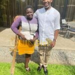 Ugwumba Uche Nwosu meets Miss Mary Daniel the lady with one leg- By Darlington .F. Ibekwe